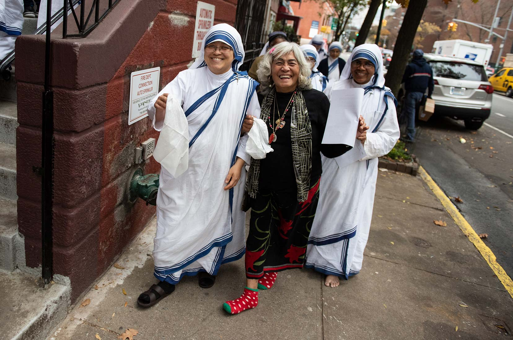 MISSIONARIES OF CHARITY,NEW YORK CITY