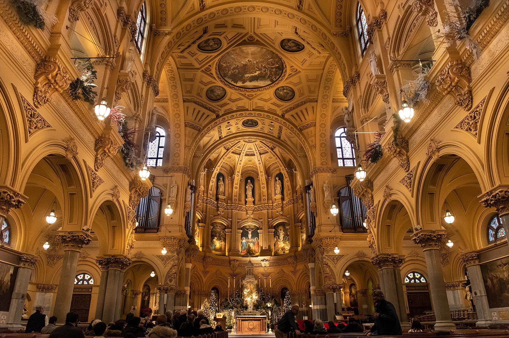 ST FRANCIS XAVIER CHURCH,NEW YORK CITY