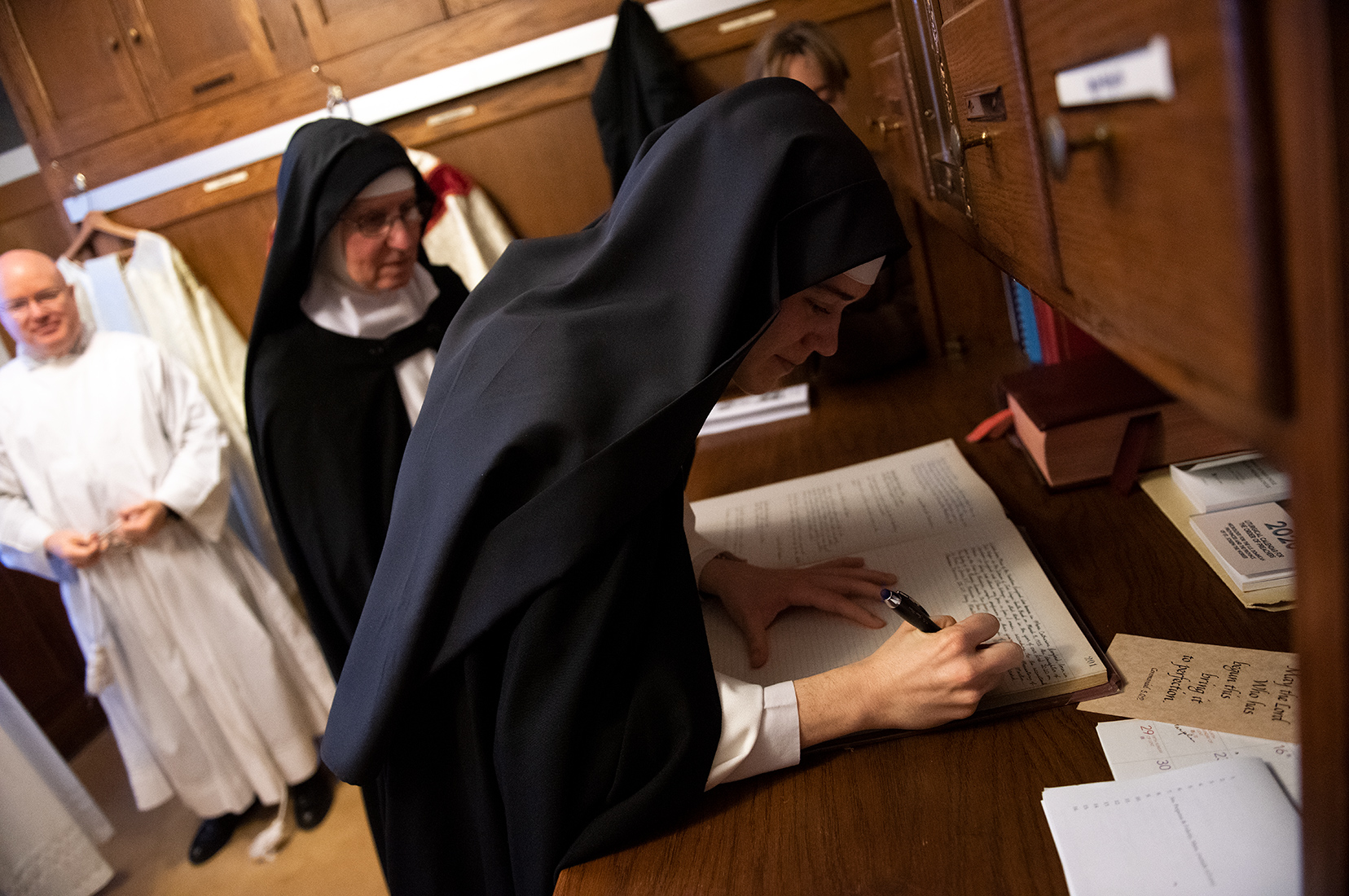 Dominican Nuns Sisters of Summit First Profession