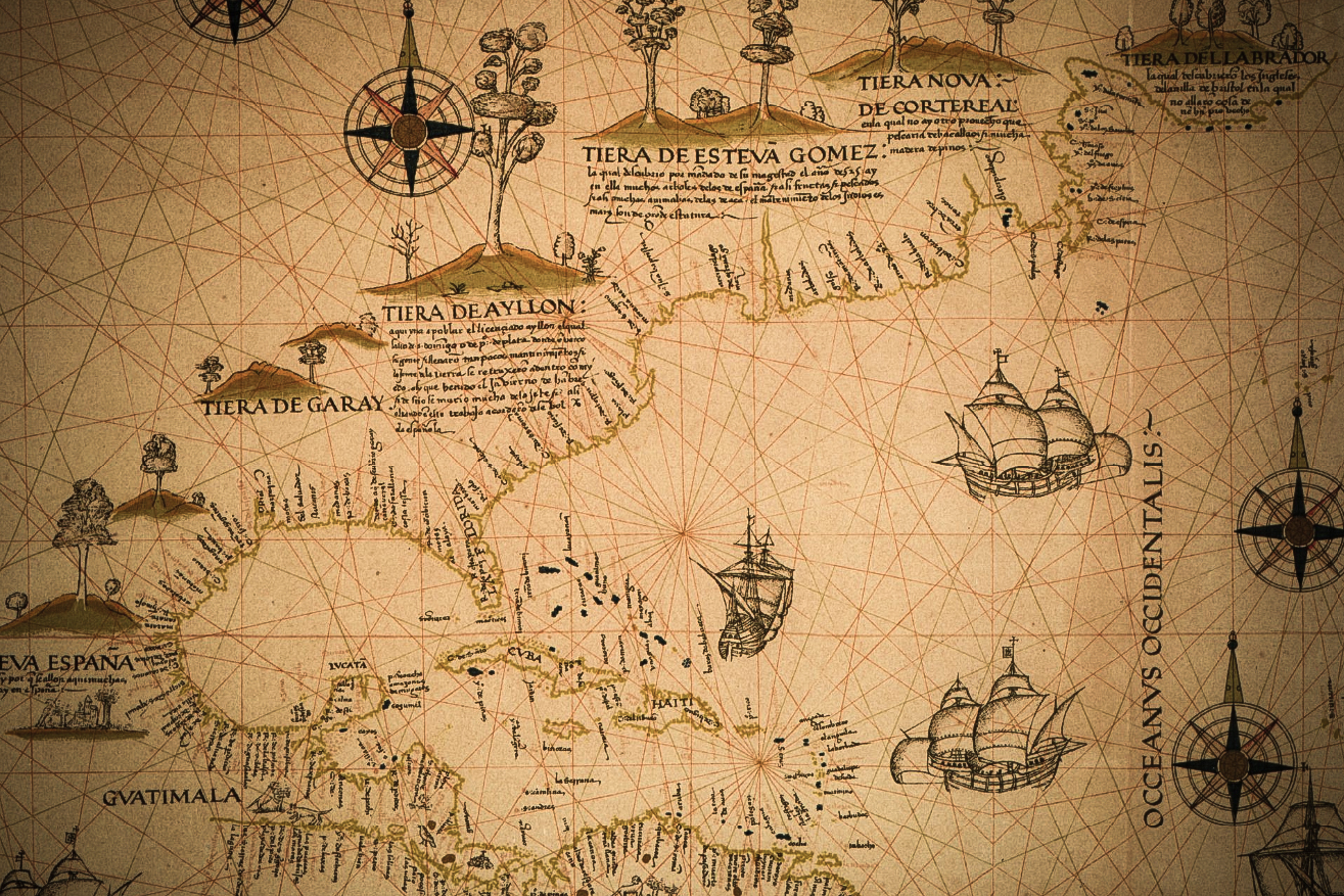 MAP WORLD OBX OUTER BANKS